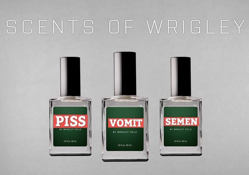 Cubs Scents? Add Urine, Barf and Poop and you GOT IT!